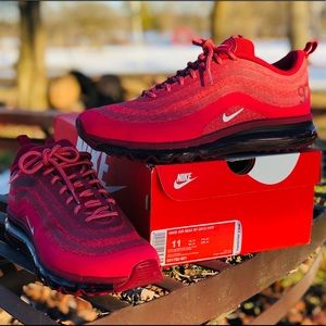 Nike Air Max 97 - 2013 Hyp Shoes Size 11 RED!